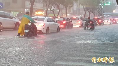 打臉韓市長?氣象局:0719累積雨量不到0823一半