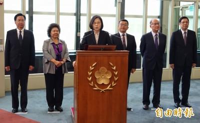 結束自由民主永續之旅 小英籲一起加油讓台灣走向世界