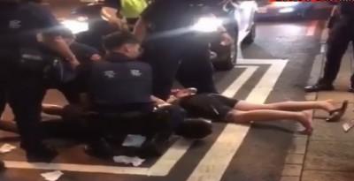 酒客PUB鬧事 員警制止竟被打中頭部濺血