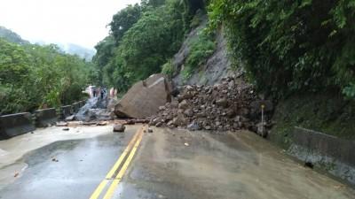 注意!阿里山公路觸口段坍方 雙向交通中斷