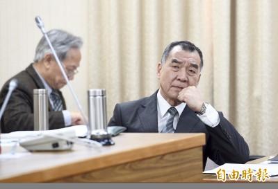 傳退輔會主委邱國正接國安局長 總統府14:00記者會說明