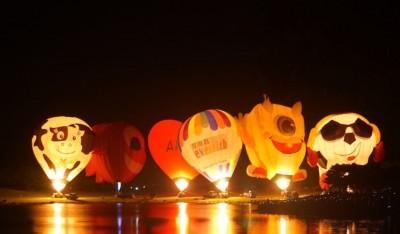 熱氣球嘉年華光雕音樂會週六移師太麻里 管制路段看這裡