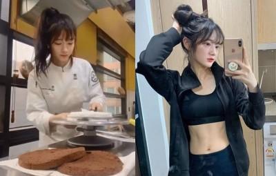 正妹甜點師「真理褲床照」引暴動 網喊:甜點不用加糖了!