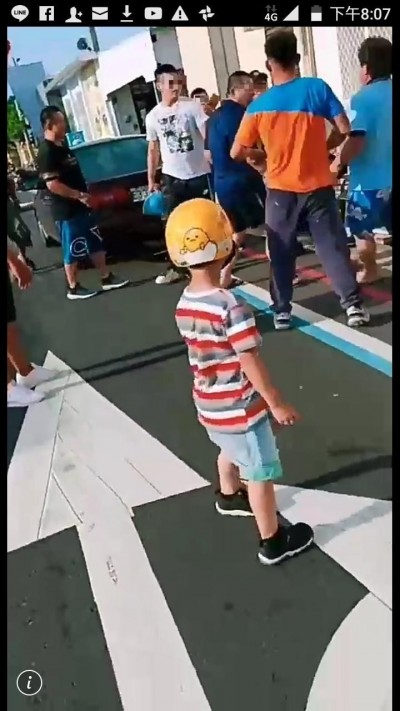 又是按喇叭引爆衝突!觀光客拿安全帽毆打澎湖民眾