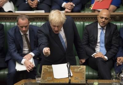 英國首相強森:現有協議無法被接受 硬脫歐列首要事項