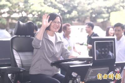 讚車王電子升級智能產業 蔡英文:台商回流下半年拚落實