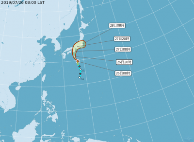旅日注意!第6號颱風「百合」正式生成 週末直撲本州