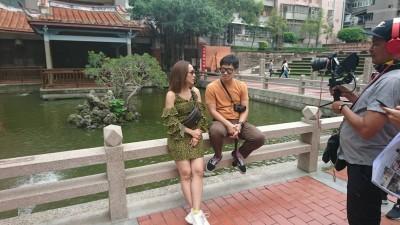 台南旅遊夯 吸引泰國明星拍攝電視節目