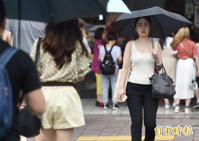 週日悶熱上看35度 留意午後大雷雨