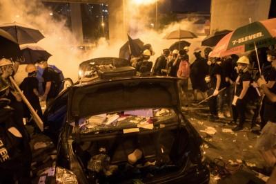 反送中》28.8萬人「光復元朗」 警武力清場、23人輕重傷