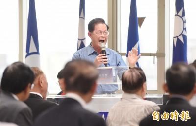 趙守博中評會開砲 要韓國瑜當選總統前戒酒