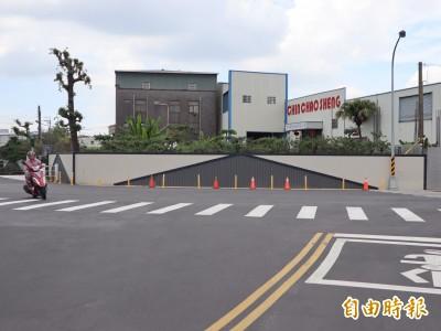 「像馬路的圍牆」GG了 公所將查報違章