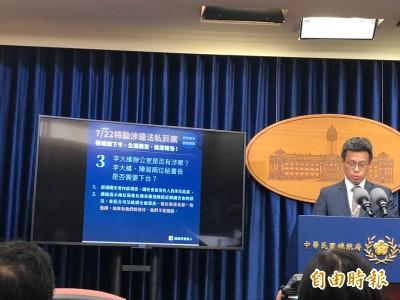 國安私菸案》總統府行政調查  侍衛室52人購買4999條
