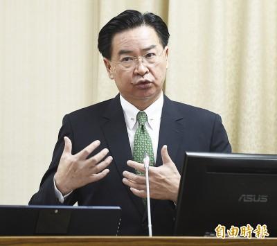 中國停簽來台自由行 吳釗燮:在怕什麼?