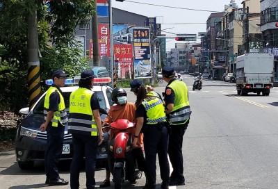 白河警分局轄區30處路口車禍多 今起加強取締闖紅燈
