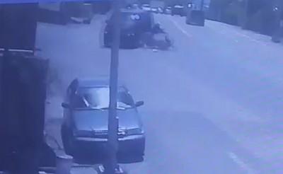 廂型車衝撞機車 女騎士傷重不治