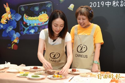 喜憨兒推出幾米月餅禮盒 邀請藍帶主廚展食尚美學