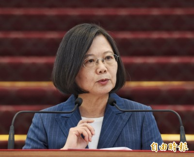 中國禁自由行「戰略錯誤」 蔡英文:早備妥因應方案