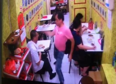 吃我一拳!2客火爆對打碗筷掉滿地 北市老字號麻油雞店遭殃