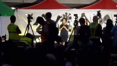 香港公務員上街聲援反送中 前政務司司長讚揚「與民同行」
