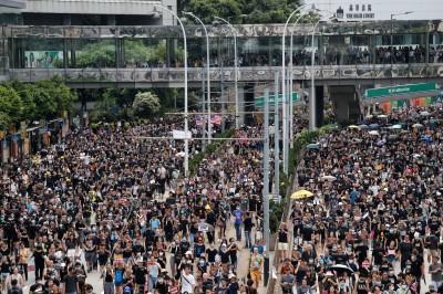 反送中》香港週日2場遊行 港島西遭反對、將軍澳獲批准