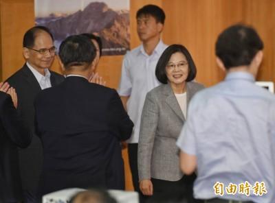 游錫堃拒接「一邊一國」黨主席 小英留人溫情喊話...