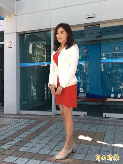 韓國瑜看上她這幾點... 何庭歡出任選辦發言人