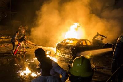 埃及開羅驚傳汽車爆炸 釀17死32傷