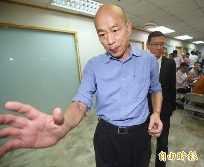 韓國瑜稱香港動亂...黃捷提這事怒批:去年就有反民主心態!