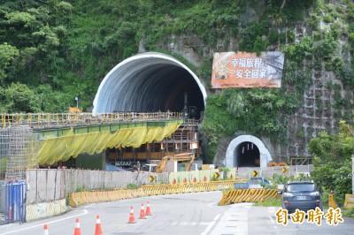 視察蘇花改仁水隧道 蘇揆見證完工前最後一哩路