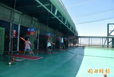中壢國民運動中心棒壘打擊場開張 18日前免費體驗