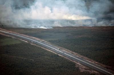 印尼野火燒不停 總統揚言開除滅火不力軍警