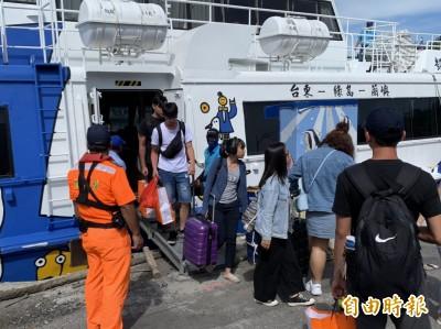 中颱利奇馬逼近 綠島遊客提前撤離