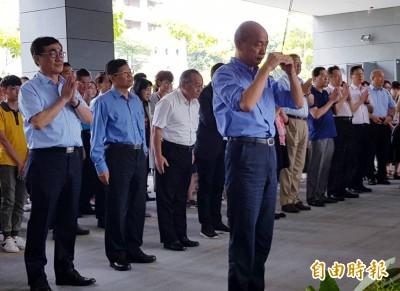 韓國瑜主持中元普渡好豐盛 好兄弟、好姊妹攏總來