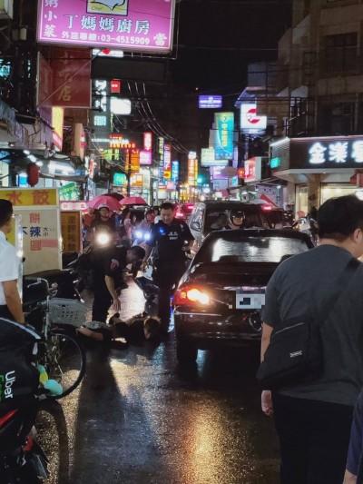 中壢鬧區封街開槍追捕 通緝犯連撞6車被逮