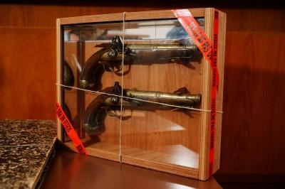 美國聯邦槍枝遭警衛竊取轉賣  浮出維安問題