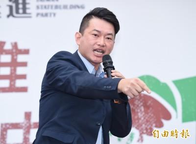 陳柏惟挑戰顏寬恒 5位市議員全力輔選