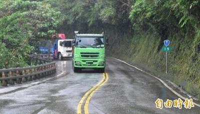 利奇馬颱風進逼 5山區路段恐預警性封閉