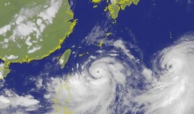 週末直撲上海 準「西北颱」利奇馬模擬路徑圖曝光