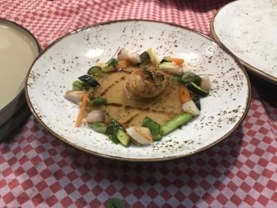弘光學生創作料理 登義大利米其林餐廳菜單