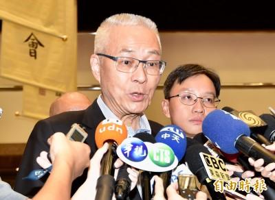 綠營控中國利用宗教系統搞紅色滲透 吳敦義:民進黨搞紅色恐怖