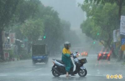 利奇馬恐增為強颱 風雨越晚越強
