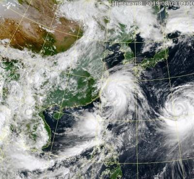 利奇馬北移仍有威脅 今白天風雨最大、明起引進強烈西南風