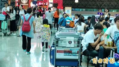 利奇馬掃過 桃機590個航班延誤取消  影響上萬旅客
