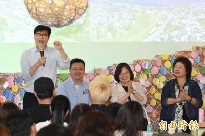 陳其邁暗酸韓國瑜:不用去中聯辦也可以守護台灣