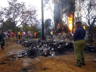 坦尚尼亞油罐車爆炸「遍地焦屍」! 57人死亡65傷