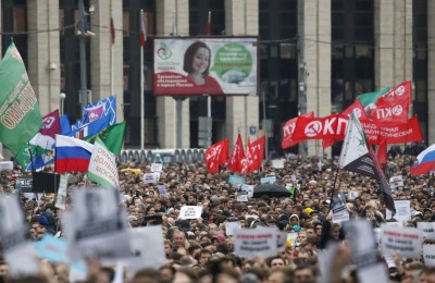 民眾覺醒抗議政府 俄官方竟怪Google宣傳「非法集會」
