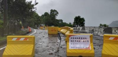 高雄豪雨成災》桃源4社聯絡道嚴重塌陷交通中斷