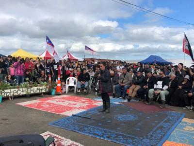 捍衛聖地!紐國毛利人和平佔領開發計畫區