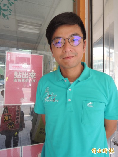 為了下一代 周江杰擬披掛參選竹縣立委第二選區